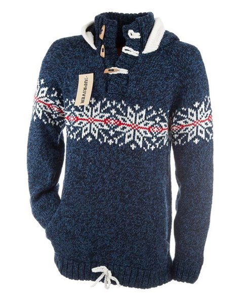 Sweater with Norwegian pattern