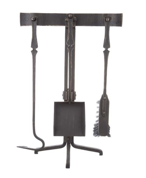 Fireplace equipment - cross base