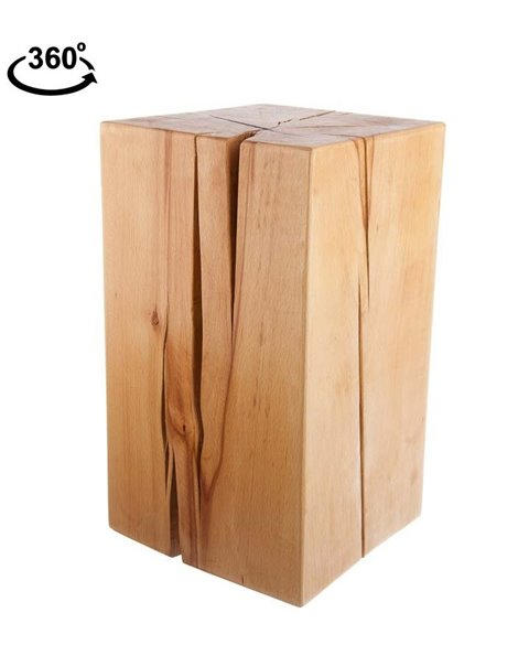 holzblock 25x25x40 cm. Black Bedroom Furniture Sets. Home Design Ideas