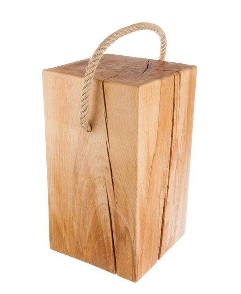 Holzblock mit Ohr